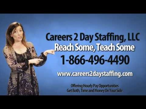 Careers 2 Day Staffing Official Commercial Ad!!