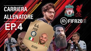 TOMMASO BERNI E' UN EXTRATERRESTRE - Fifa 20 Carriera Allenatore EP.4
