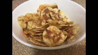 2 min microwave Potato Chips || Easy Cook Recipes