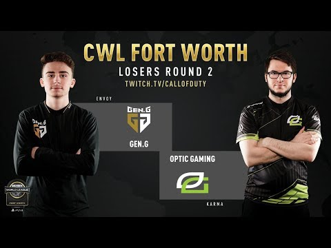 Gen.G vs Optic Gaming | CWL Fort Worth 2019 | Day 2