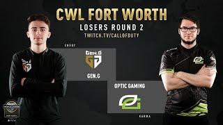 Gen.G vs Optic Gaming   CWL Fort Worth 2019   Day 2