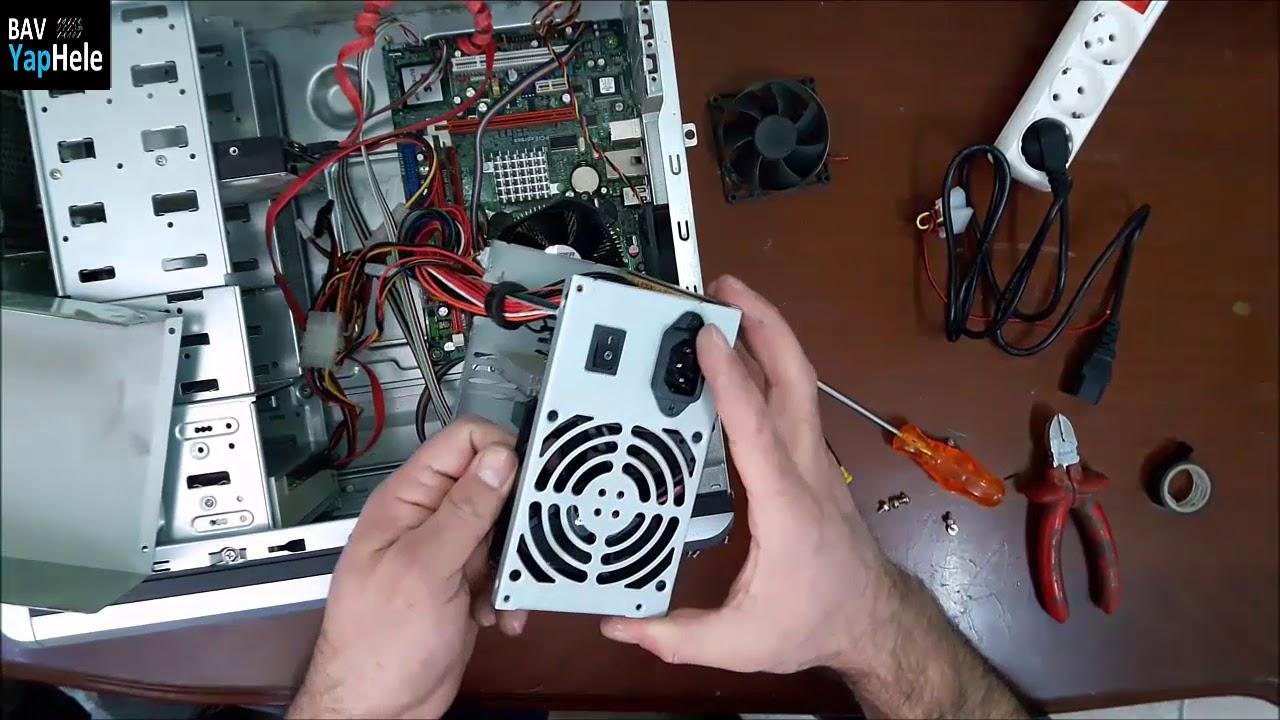 SES YAPAN FANLARA ÇÖZÜM (Bilgisayar Fan Temizleme Yağlama Nasıl Yapılır)