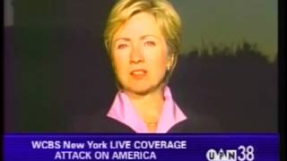 9/11 - Hillary Clinton Gathers Support For Future War On Terror And Gets An Extra $20 Billion