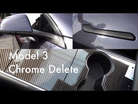 Tesla Model 3 - Interior and Exterior Delete - Good Bye Fingerprints