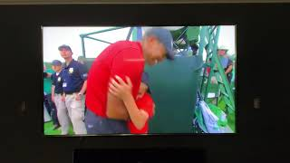 Tiger Woods Celebrating with Family & Friends after Winning the 2019 Masters Golf Tournament 4.14.19