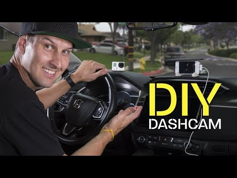 DIY Dashcam From IPhone GoPro And Theta 360