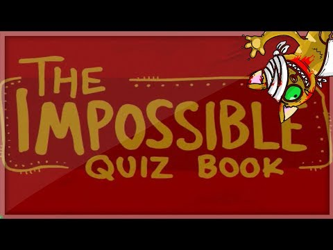 F*** THIS GAME! | The Impossible Quiz Book: Chapter 1 (with Josh)