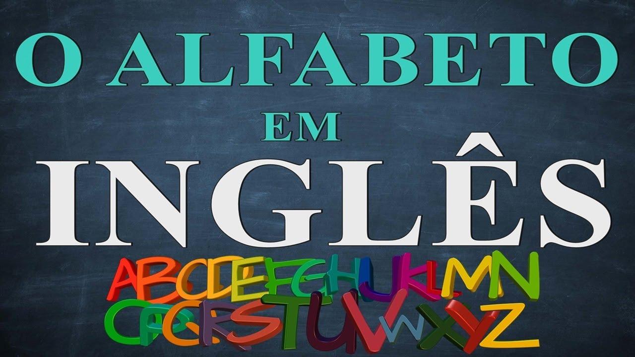Inglês para iniciantes - aula 01 - O alfabeto inglês - English alphabet