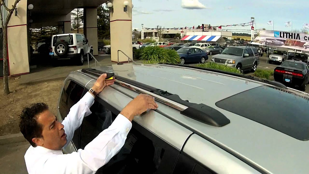 2012 Chrysler Town & Country | Roof Rack at Santa Rosa Dodge - YouTube
