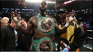 SHOCKING NEWS! DEONTAY WILDER'S FIGHT PURSE REVEALED! 10 MILLON