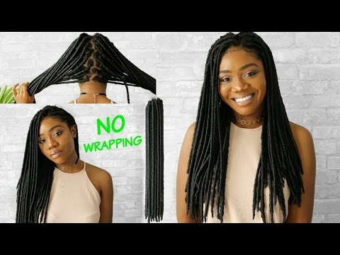 EASIEST FAUX LOCS  | NO WRAPPING 🔥 NO CORNROWS | VERY DETAILED | + HOW TO REMOVE INDIVIDUAL CROCHET