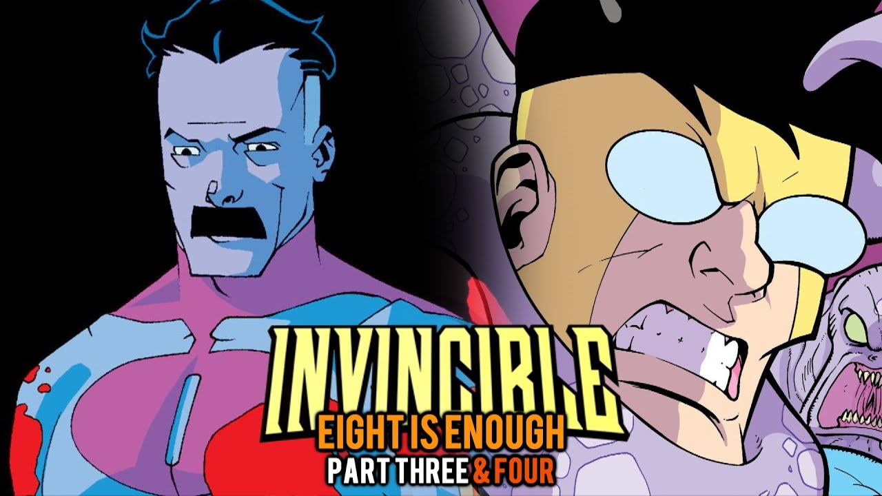 BLOODSPILL! | Invincible: Eight is Enough | Part Three & Four (FINALE) | Issue #7, 8 - Motion Comic