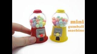 DIY Miniature Mini Gumball Machine - Easy !