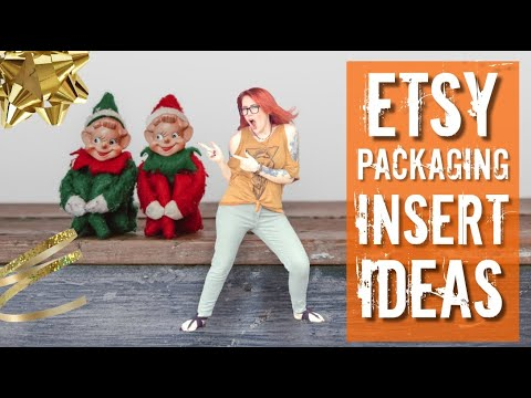 Etsy Packaging Insert Ideas For Better Holiday Reviews - Handmade Alpha Friday Q&A