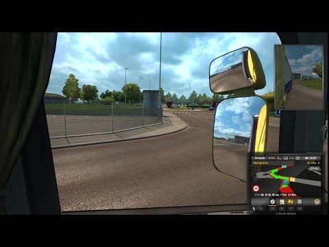 Hamburg to Helsingborg via Trelleborg (Ferry)   Euro Truck Simulator 2