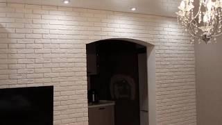 Декоративная плитка Prones Stones в интерьере зала. Фотоотчёт(, 2016-01-30T21:18:56.000Z)