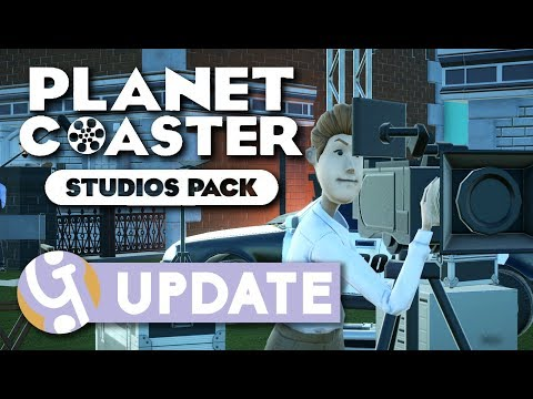 Studios Pack Overview + Giveaway | Planet Coaster