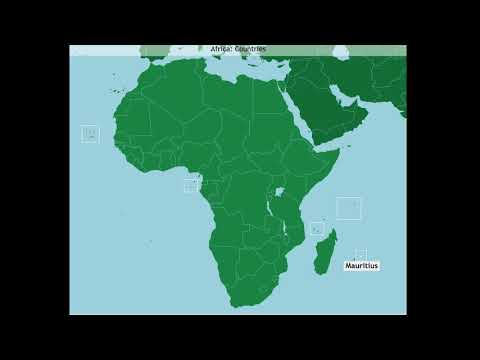 Africa: Countries (A-Z)