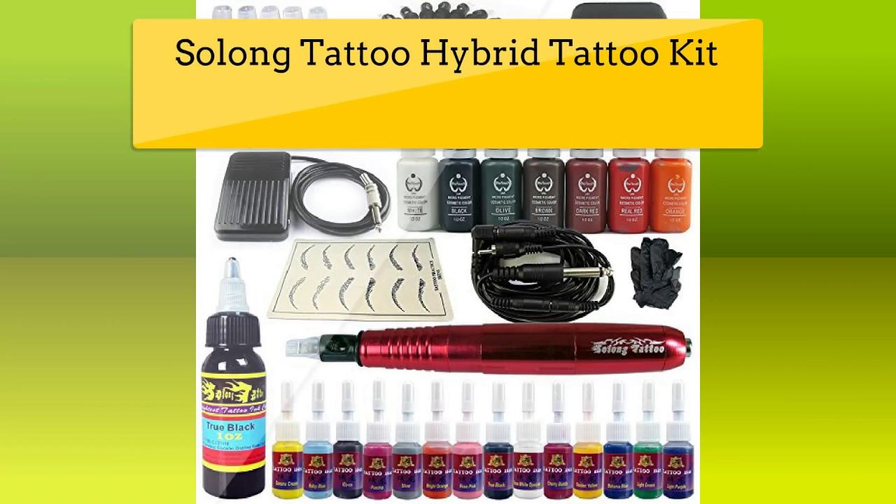 Top 5 Tattoo Kit Reviews - Best Tattoo Kit - YouTube