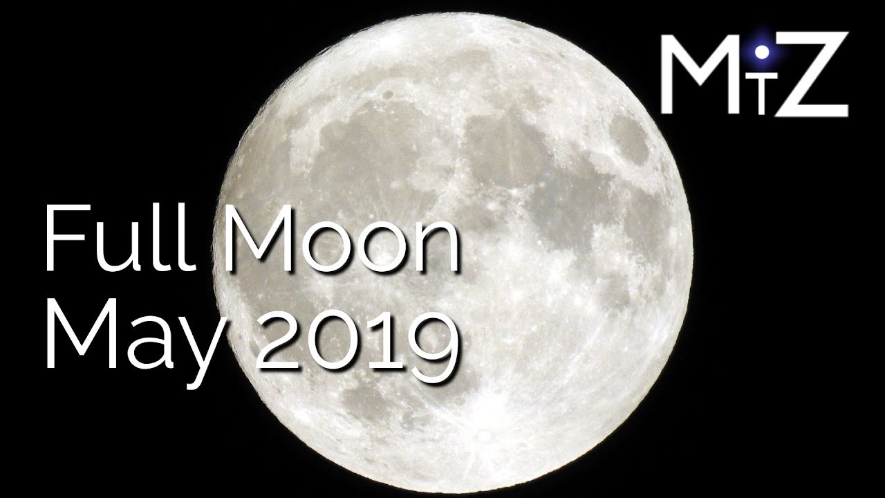 Full Moon Saturday May 18th 2019 - True Sidereal Astrology