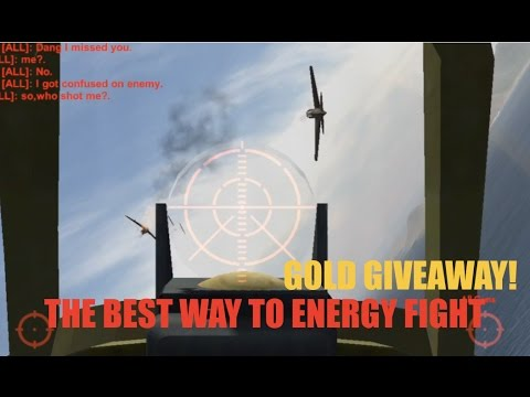 Wings of Duty BEST ENERGY FIGHT TACTICS! GOLD GIVE AWAY!