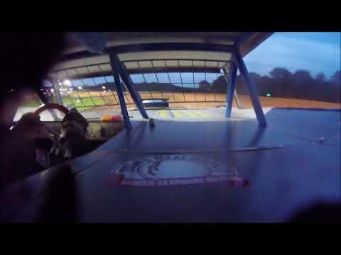 Brett McDonald Heat Race Lernerville Speedway 8/24/18 In-car