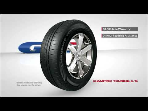 GT Radial  Champrio Touring AS