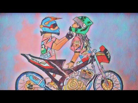 Terkeren 16+ Gambar Kartun Motor Drag Dan Joki - Gani Gambar