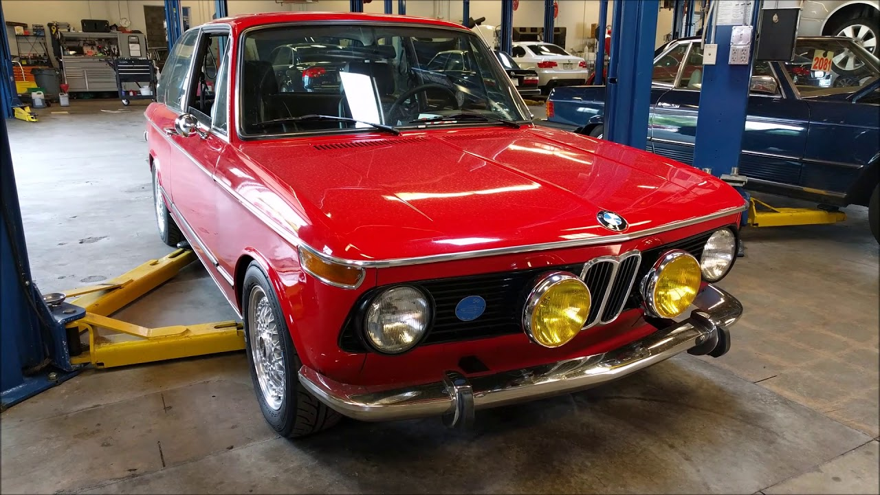 Red Bmw 2002 Youtube