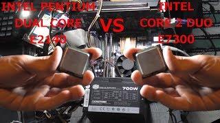 INTEL P Dual Core E2140 vs Core 2 Duo E7300   Skyrim, Tomb Raider 2013