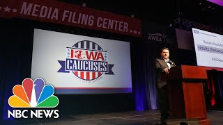 Iowa Democratic Chair Defends Integrity Of Caucus Data: 'This Is Personal To Me' | NBC News