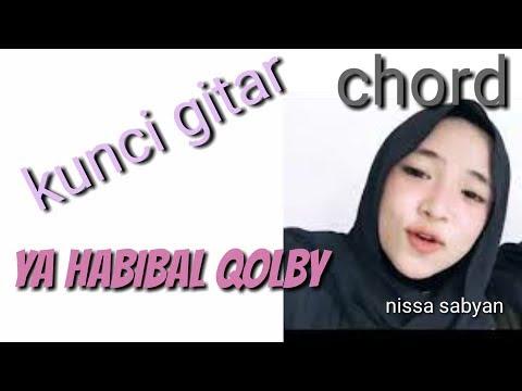 Ya Habibal Qolby - Nissa Sabian Cover Gitar Dan Chord/ Kunci Gitarnya