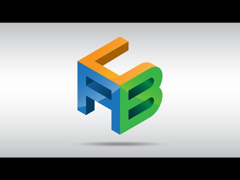 How to create A Cube Logo with Custom Letters in Adobe Illustrator CC