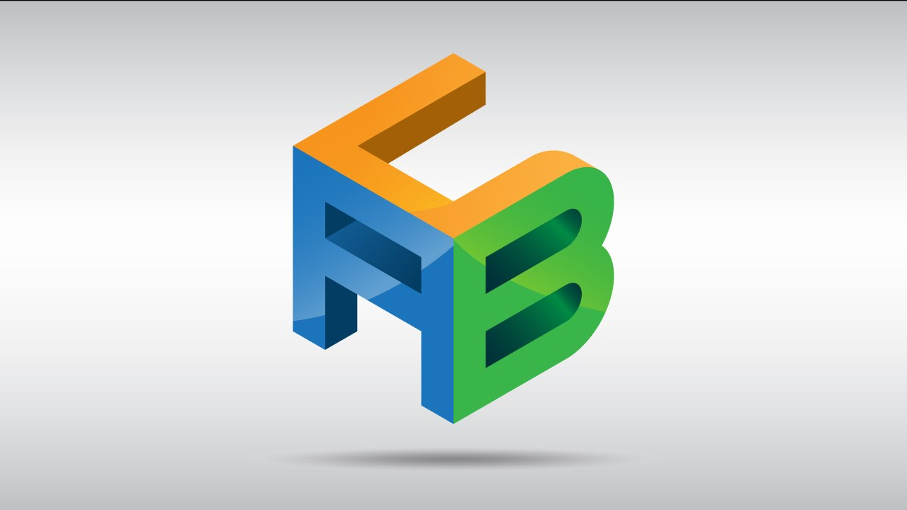 How To Create A Cube Logo With Custom Letters In Adobe Illustrator