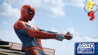 PS4 Spider-man Gameplay Demo Walkthrough E3 2018 - HD 1080p 60fps