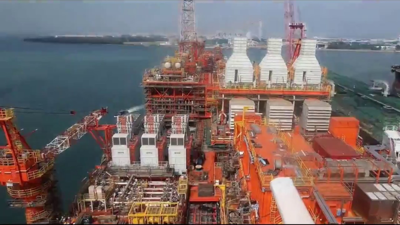 West Hub and East Hub projects in Angola   Eni