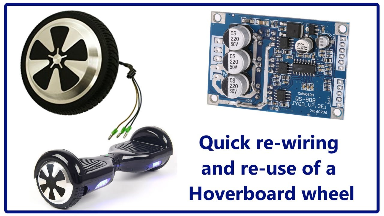 Quick Rewire Of A Hoverboard Wheel
