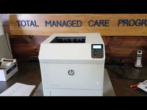 HP LaserJet M604/605/606 first look and review