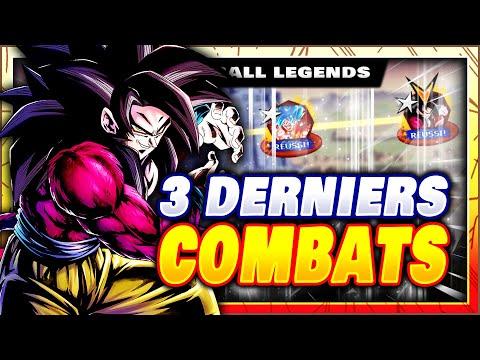 ?? 3 DERNIERS COMBATS DANS LE CHALLENGE RUSH GOKU ! DRAGON BALL LEGENDS FR