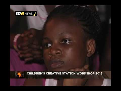 AFRICARTS | CHILDREN'S CREATIVE STATION WORKSHOP 2016 | TVC NEWS