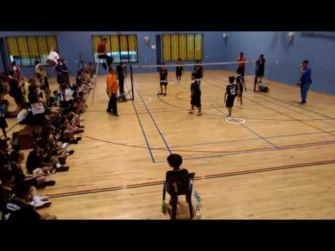 Arjun from Bendemeer Primary School , Singapore. Sepak Takraw Senior championship
