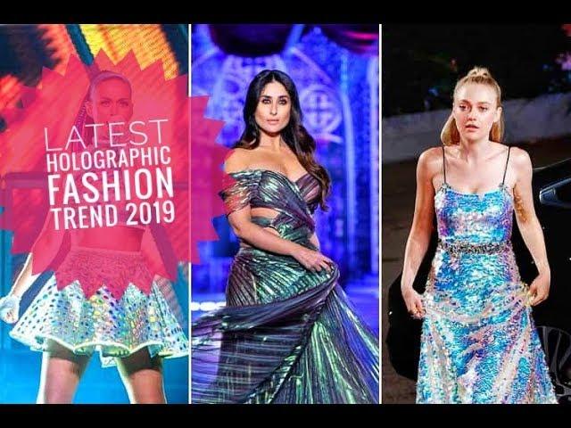 Holographic Fashion Trends | TNILIVE Telugu Fashion News
