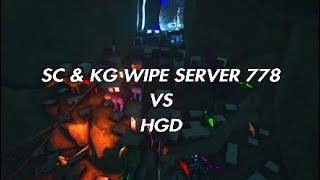 Ark PVP OFFICIAL - SC & KG VS HGD ON 778 [WIPE PART 1]