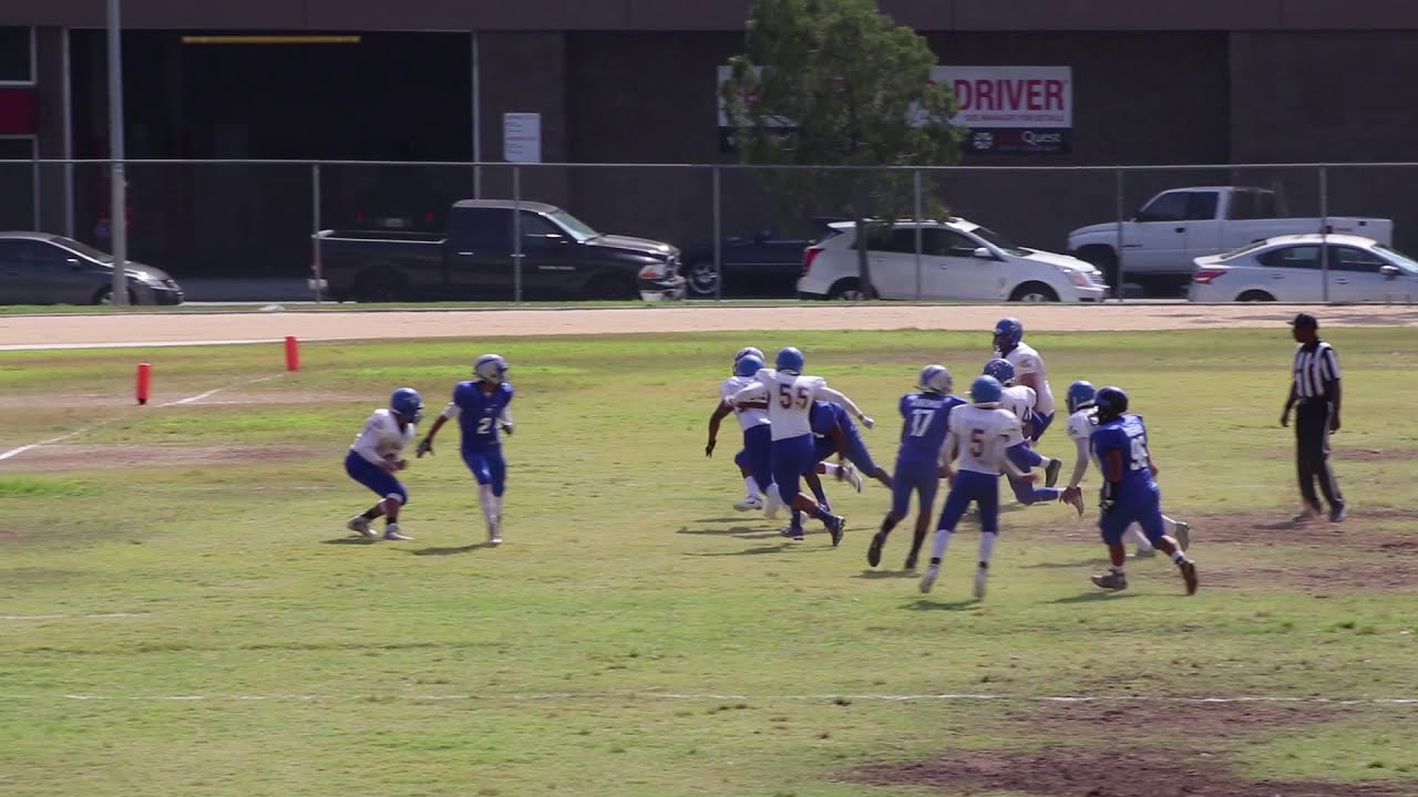 Animo Jackie Robinson High School 8man Football 2017 Undefated Season
