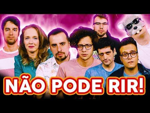 NÃO PODE RIR! com Rato Borrachudo, Damiani, Davy Jones, Mauro Nakada e Carlos Santana