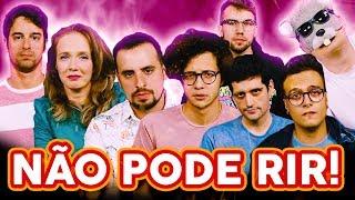 Baixar NÃO PODE RIR! com Rato Borrachudo, Damiani, Davy Jones, Mauro Nakada e Carlos Santana