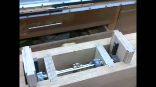Table Extension Lift Mechanism