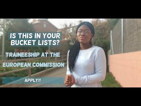 TRAINEESHIP AT THE EUROPEAN COMMISSION