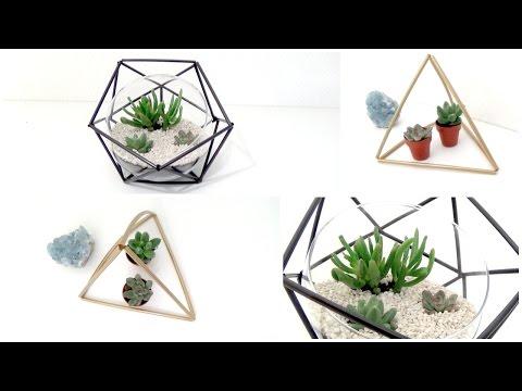 DIY | Terrarium géométrique┆Alyssia