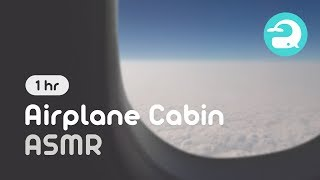 Airplane Cabin Ambience White Noise Sound for Relaxing / 비행기 기내 입체음향